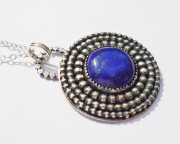 Lapis Lazuli Round Necklace