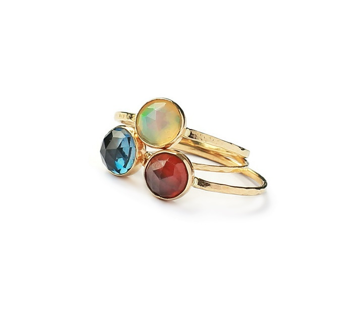 hessonite garnet 14 k gold ring saruchi r jewellery