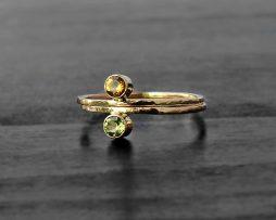 Citrine 14 K Gold Ring